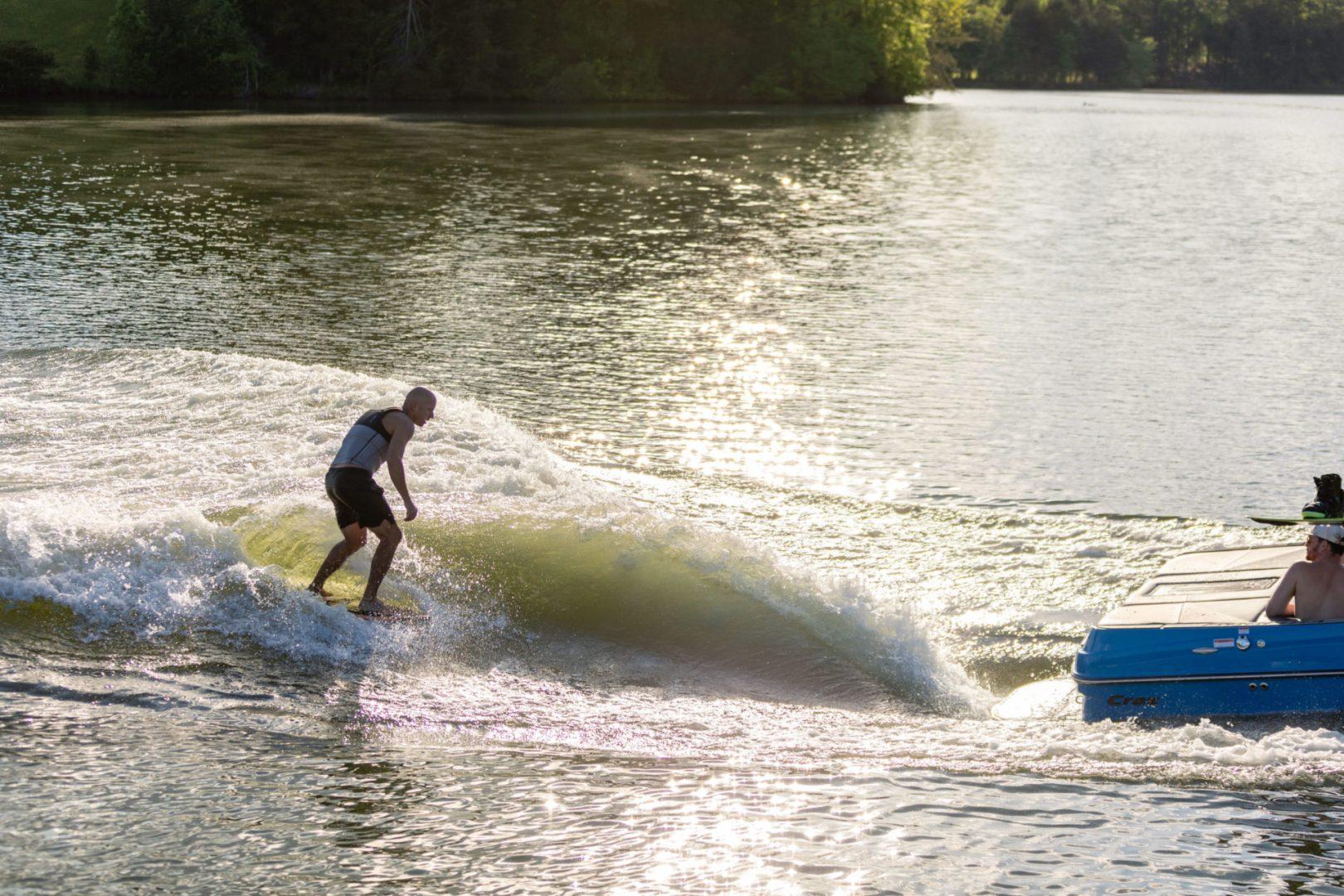 Moomba Boats   Craz Wakesurf