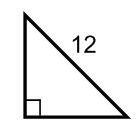 Identifying 45 45 90 triangles