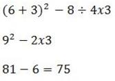 PEMDAS Calculation