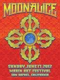 M486 › 6/17/12 Marin Art Festival, San Rafael, CA poster by Dave Hunter