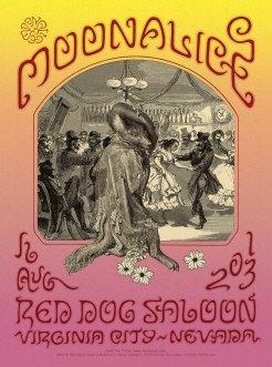 M627 › 8/16/13 Red Dog Saloon, Virginia City, NV poster by David Singer
