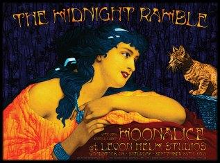 M641 › 9/28/13 Levon Helm Studios, Woodstock, NY poster by Alexandra Fischer