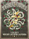 M698 › 4/26/14 Winston's, San Diego, CA poster by Darrin Brenner