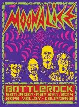 M711 › 5/31/14 BottleRock Festival, Napa Valley, CA poster by Wes Wilson & Alexandra Fischer
