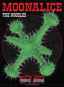 M753 › 9/28/14 Cactus Jack's Ahwatukee Tavern, Phoenix, AZ poster by Chris Shaw