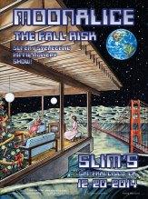 M785 › 12/20/14 Slim's, San Francisco, CA poster by Dennis Larkins
