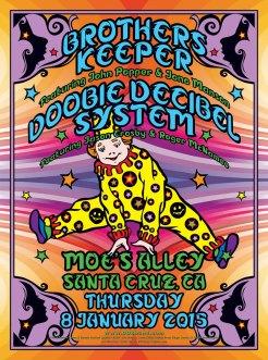R25 › 1/8/15 Moe's Alley, Santa Cruz, CA