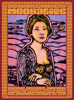 M870 › 9/20/15 San Geronimo Valley Community Center, San Geronimo, CA poster by Wes Wilson