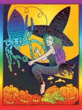 M881 › 10/25/15 Sweetwater Music Hall, Mill Valley, CA poster by Carolyn Ferris