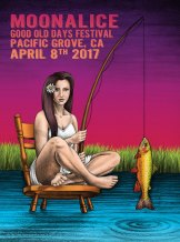M942 › 4/8/17 Good Old Days Festival, Pacific Grove, CA poster by Lauren Yurkovich