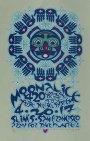 M944 › 4/20/17 420 Gathering of the Tribe, Slim's, San Francisco, CA silkscreen poster by Gary Houston with Doobie Decibel System