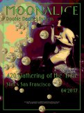 M961 › 4/20/17 420 Gathering of the Tribe, Slim's, San Francisco, CA poster by Pat & George Sargent with Doobie Decibel System