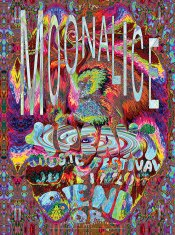 M988 › 6/17/17 4 Peaks Music Festival, Bend, OR poster by Lee Conklin