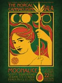 M998 › 7/22/17 The Norcal CANNAcuisine Gala, Sonoma, CA poster by Alexandra Fischer