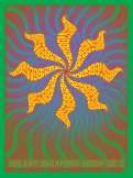 4/11/14 Moonalice poster by Dave Hunter