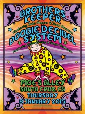 R25 › 1/8/15 Moe's Alley, Santa Cruz, CA with Brother's Keeper