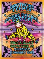 R25 › 1/8/15 Moe's Alley, Santa Cruz, CA with Brother's Keeper