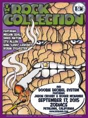 9/17/15 Doobie Decibel System poster by Gary Houston