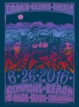 R73 › 6/26/16 Tahoe Commons, Kings Beach, CA poster by Wes Wilson & Carolyn Ferris