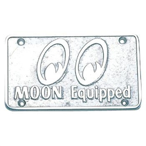 Moon Car Club, MOON Equipped Plaque