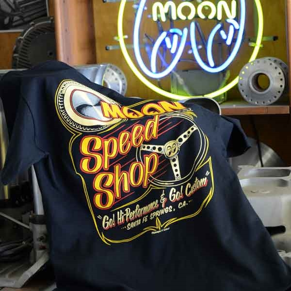 Moon Equipped Speed Shop T Shirt