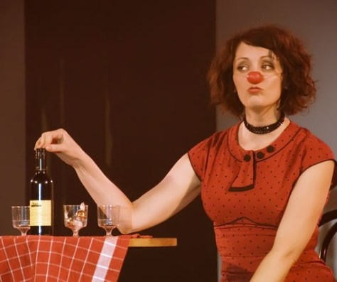 Rebecca Northan in Blind Date