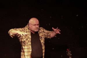 Jim Sands in performance May 24, 2012 in Vancouver