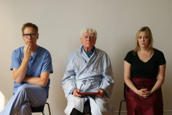 Andy Trithardt, Peter C Wylde and Jennetta Lamb in Like A Dog
