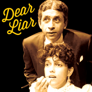 Naseeruddin Shah in Why Not Theatre's Beyond Bollywood Dear Liar playing at the Regent Park Arts and Cultural Centre