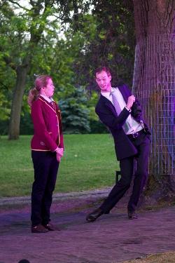 8 - Jacklyn Francis as Prince, Alex McCooeye as Richard