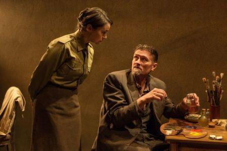 Irene Poole and Geordie Johnson in The Bakelite Masterpiec