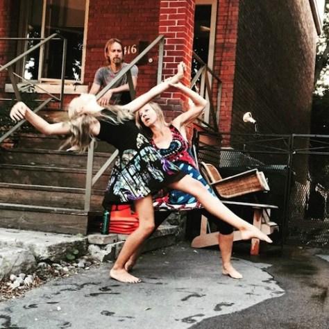 Photo of Amarai, Leslie and Lori Endes by Shana Hillman