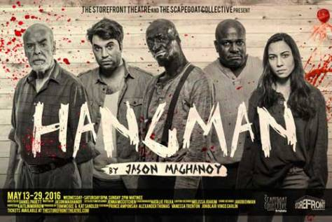Hangman promotional image with entire cast