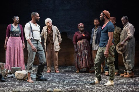 Photo of Lisa Berry, Dion Johnstone, Walter Borden, Akosua Amo-Adem, Marcel Stewart, Daren A. Herbert, Peter Fernandes, Roy Lewis in Father Comes Home From the Wars by Cylla von Tiedemann