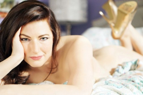 Photo of Erin Aubrey (self-portrait)