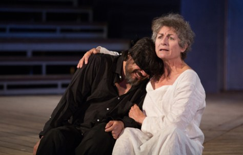Jason Cadieux and Diane D'Aquila in King Lear - photo by Cylla von Tiedemann