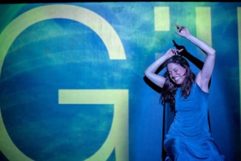 Gillian Clark Gillian Clark in Let's Try This Standing