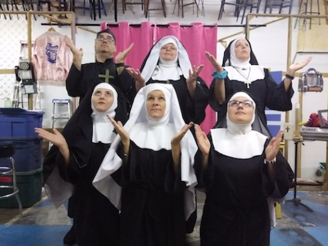 Photo of the cast of Nunsense