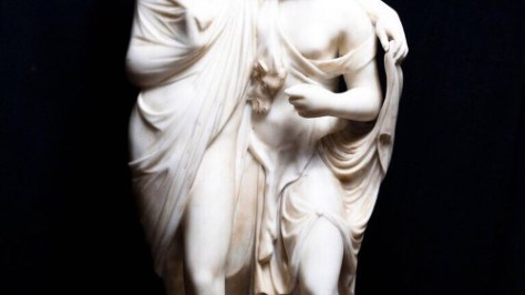 Photo of greek statue from A Perfect Romance.