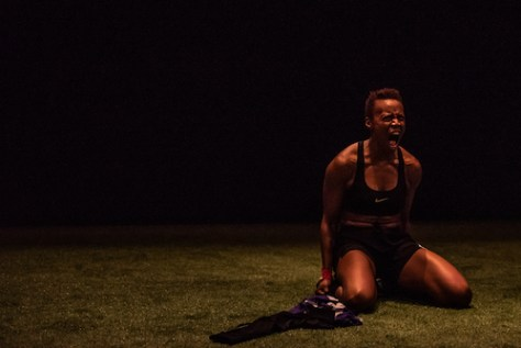 Amaka Umeh in The Wolves photo by Dahlia Katz