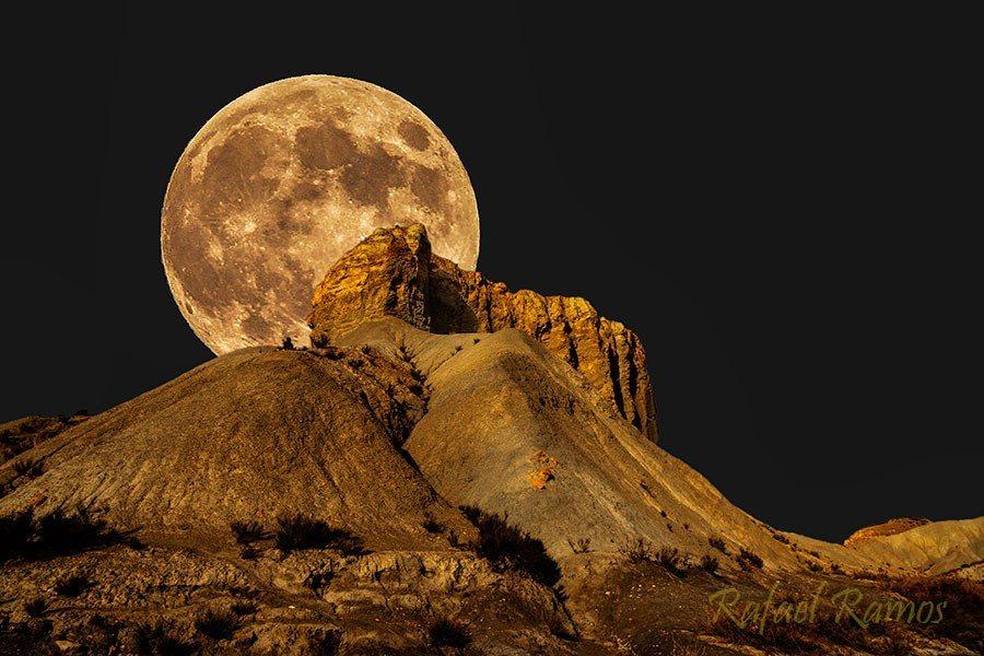 Image result for pics moonlit desert