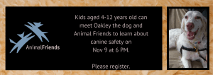 animal friends and oakley
