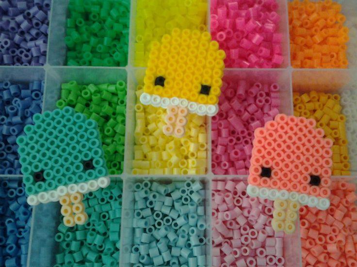 Dabbing Unicorn Perler Bead Patterns - Bead Pattern (Free)