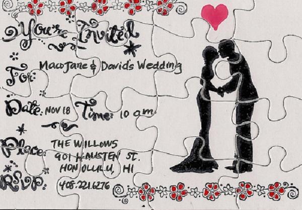 Unique Wedding Invitation Ideas To Create Your Own Artistic Design 1011201613