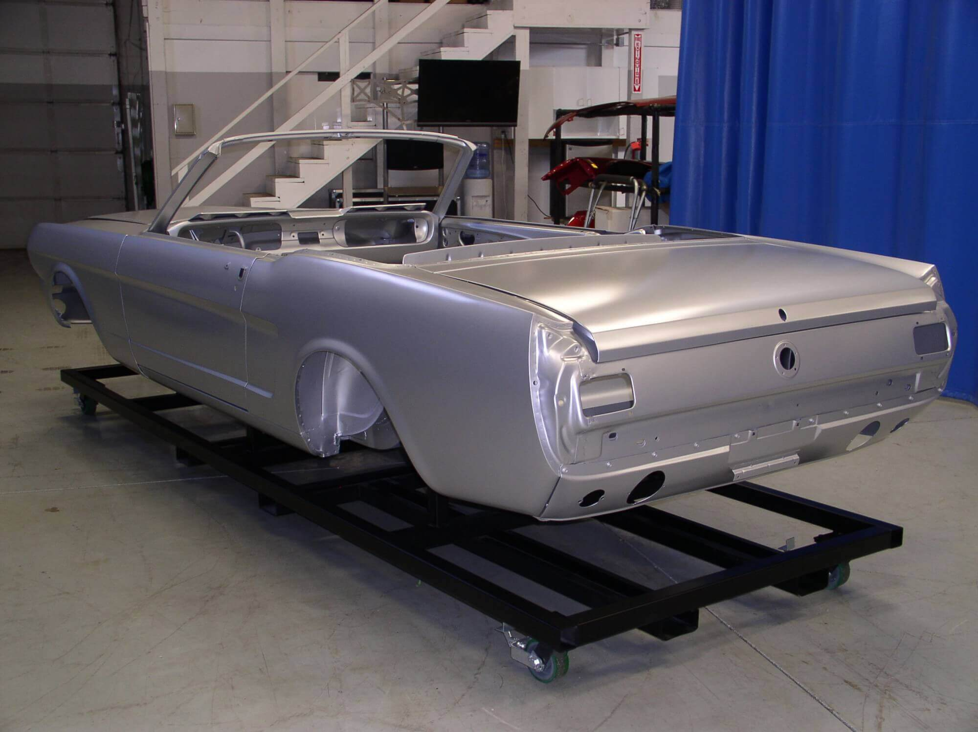 Classic Car Body 1965 1966 Ford Mustang Convertible