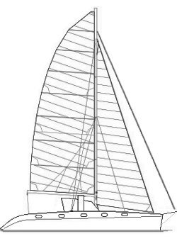 Naval architecture yacht catamaran design wood epoxy boat