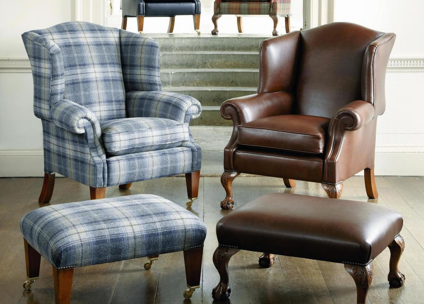 Duresta Sommerset Wing Chair from Tannahill Furniture Ltd