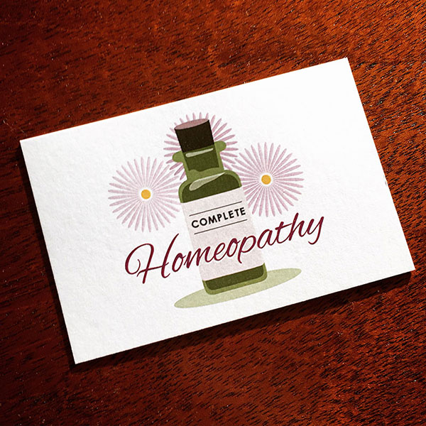 Complete Homeopathy - business cards