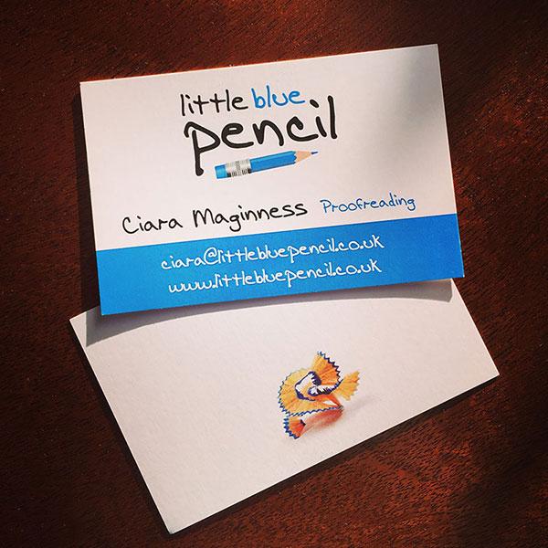 Little Blue Pencil - business cards