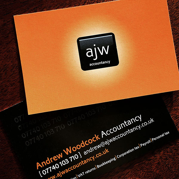 Andrew Woodcock - Business Cards